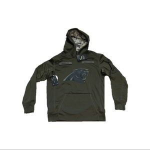 Carolina Panthers Nike Salute Sweatshirt Medium